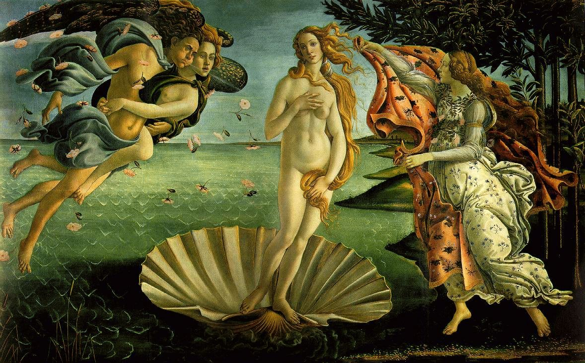 The Birth of Venus-Botticelli